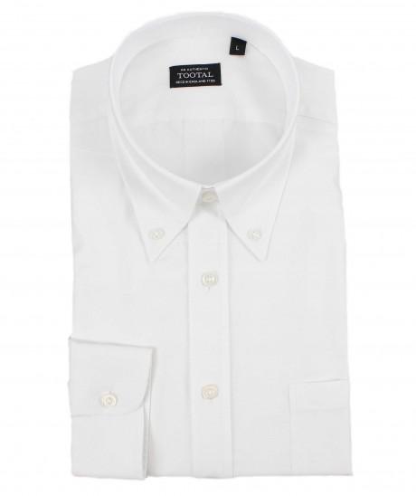 Tootal Plain White Oxford Shirt