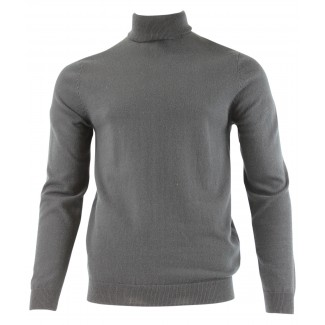 Tootal Roll Neck Black Jumper