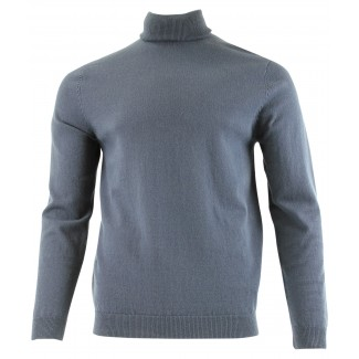 Tootal Roll Neck Navy Blue Jumper