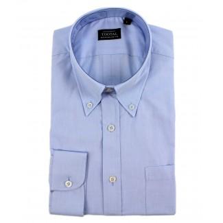 Tootal Plain Blue Oxford Shirt