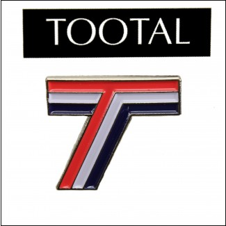 "Tootal ""Triple T"" Pin Badge"