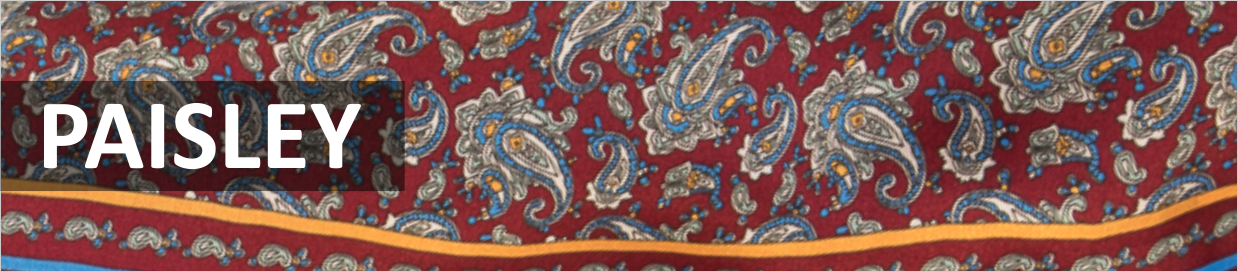 Mens Paisley Scarves from Tootal