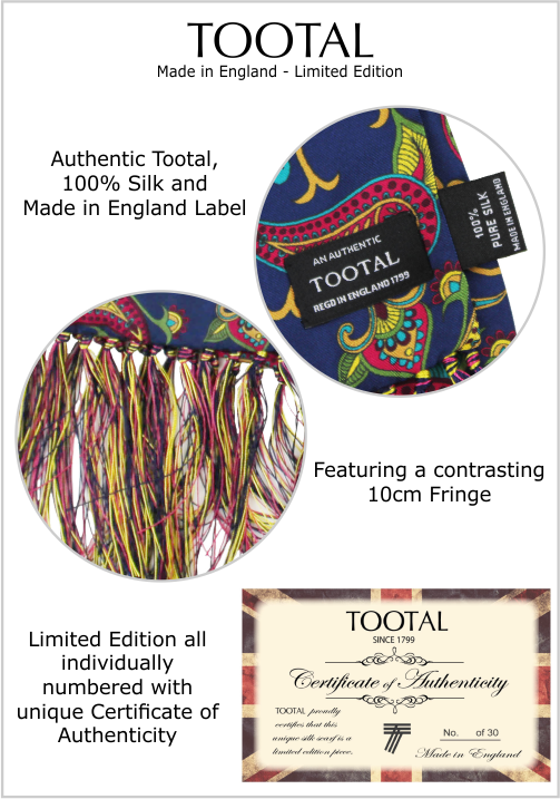 Tootal Made in England
